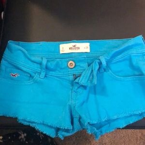 Hollister shorts. Worn once. Size 0/24